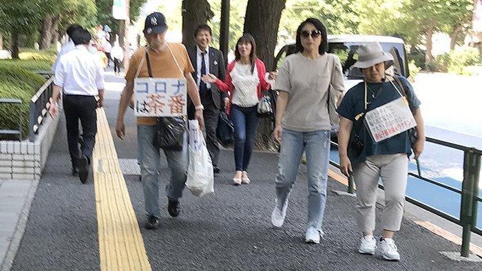 Warga Jepang Mulai Tidak Percaya Virus Corona, Vaksin Dianggap Menghambat Sinyal 5G dan Mengubah DNA
