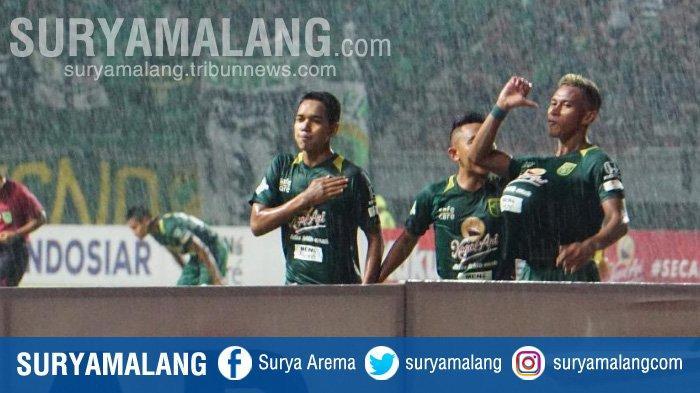 Persebaya Vs Bhayangkara FC 1-0, Selebrasi Osvaldo Haay Seperti Orang Mengandung, Inilah Maknanya