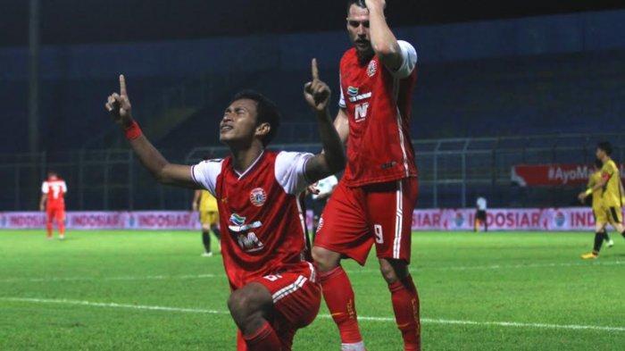 Main 10 Orang, Persija Kalahkan Bhayangkara Solo FC 2-1 dan Lolos Perempat Final Piala Menpora 2021