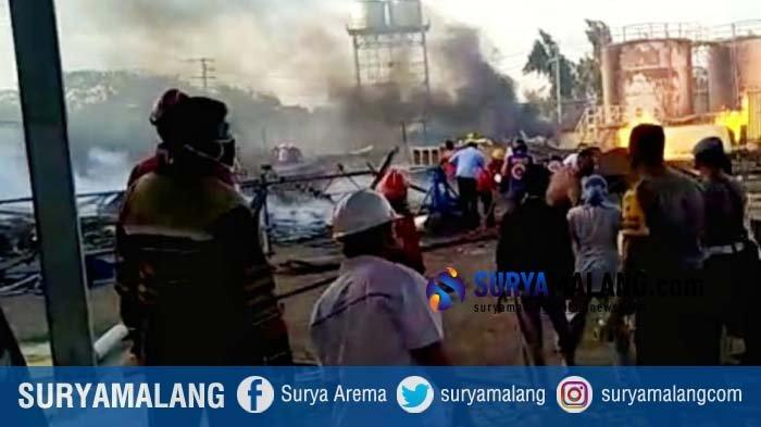 PT Energi Agro Nusantara Mojokerto Masih Selidiki Penyebab Kebakaran yang Terjadi