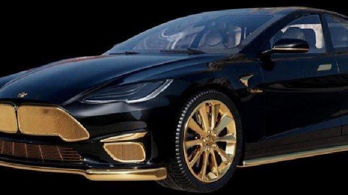 Spesifikasi Tesla Model S Excellence 24K, Mobil Berlapis Emas Seharga Rp 4,2 Miliar