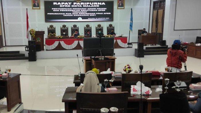 Anggaran Belanja Tidak Terduga (BTT) untuk Penanganan Covid-19 di Kota Malang Ditambah Rp 30 Miliar