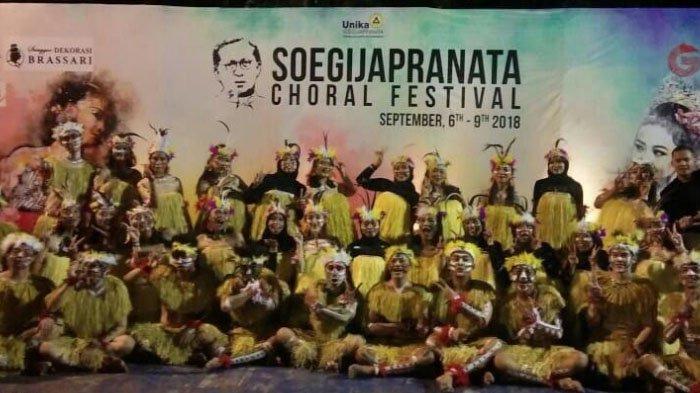 Paduan Suara FIA Universitas Brawijaya Berjaya di International Soegijapranata Choral Festival 2018