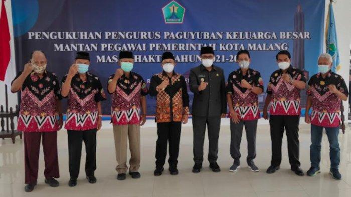 Wali Kota Malang Sutiaji Kukuhkan Keluarga Besar Purnawirawan ASN Periode 2021-2025
