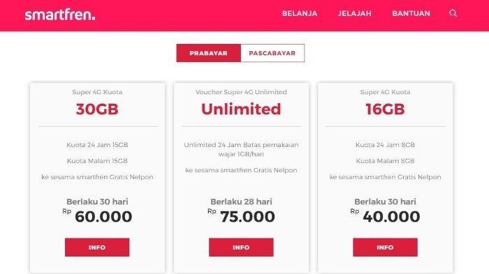 Promo Smartfren Mei 2020: Paket Internet Unlimited 4G Cuma 75 Ribu, Ada 2 Paket Terbaru FUP 1 GB