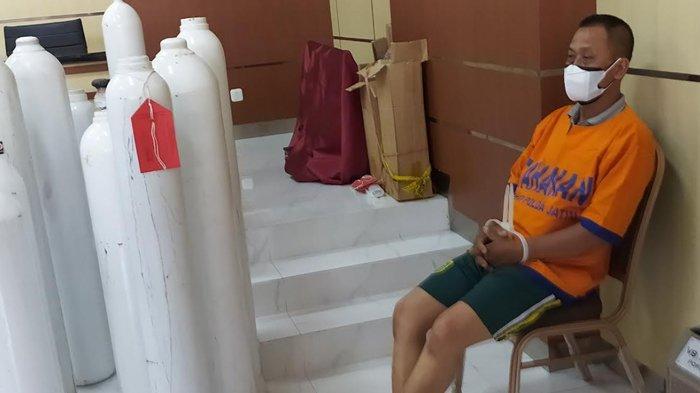Penjual Tabung Oksigen Palsu dari Tabung Pemadam di Surabaya Punya 6 Modus untuk Yakinkan Pembelinya