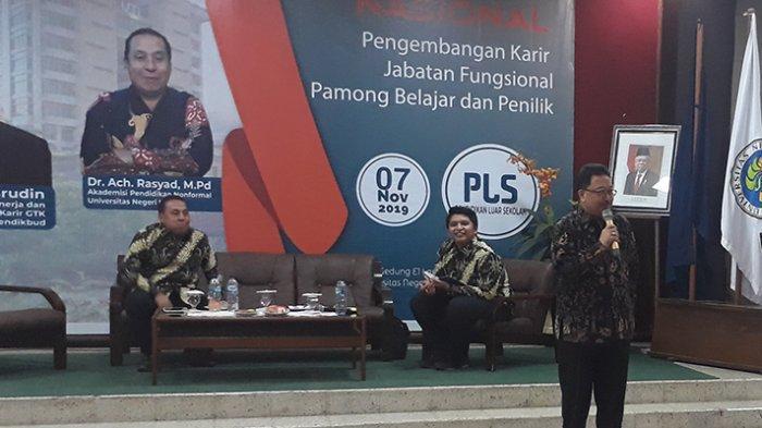 Fakultas Ilmu Pendidikan Universitas Negeri Malang (UM) Bahas Pamong Belajar dan Penilik