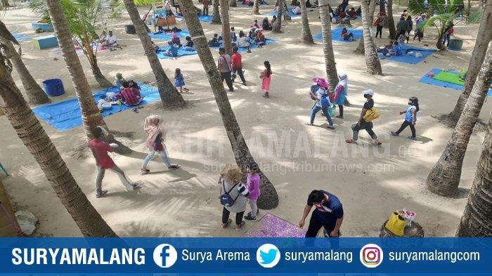Pantai Kelapa Tuban Mulai Buka Kembali, Harga Tiket Rp 10 Ribu, Maksimal Tampung 6 Ribu Pengunjung
