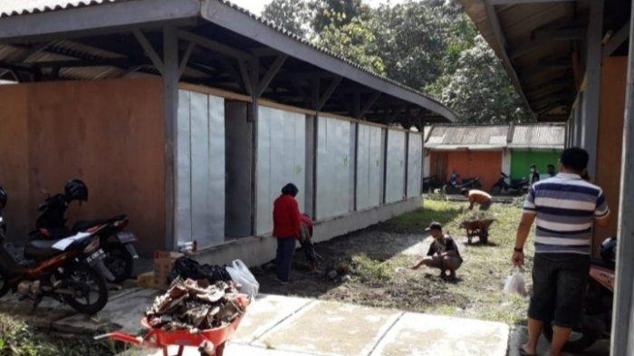 Tunggu Tempat Relokasi, Eks Pedagang Mastrip Ditampung di Bekas Pasar Burung Dimoro Kota Blitar