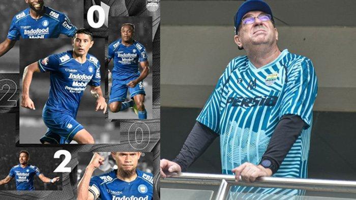 Jajaran 20 Pemain Persib Bandung yang Akan Melawan Arema FC, Robert AlbertsBoyong Jagoannya