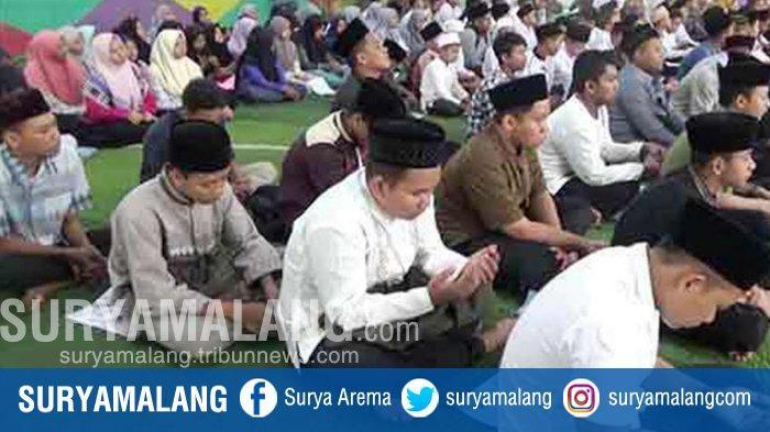 Jelang Putusan MK Soal PHPU Pilpres, Santri Ponpes di Jombang Gelar Doa Bersama