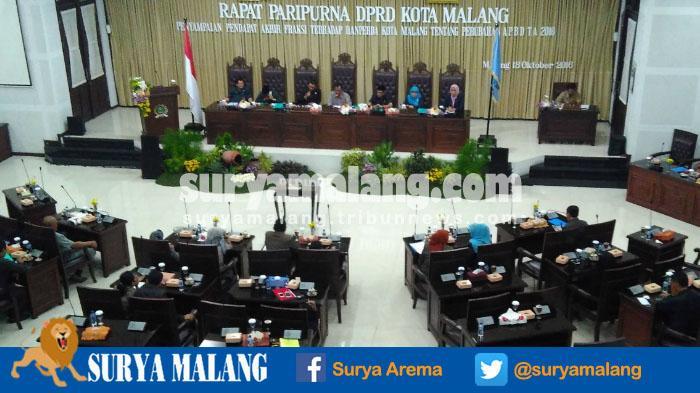 Ketua DPRD Kota Malang Terima Permohonan PAW Rasmuji