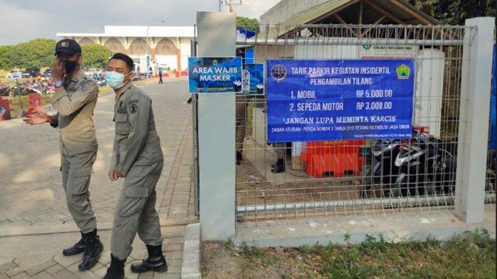 Dishub Kota Malang Tentukan 2 Titik Parkir Resmi dan Tegaskan Tarif Parkir di Lokasi SKD CPNS