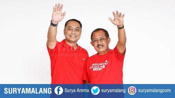 Eri Cahyadi-Armuji Menang Pilwali Surabaya Sesuai Rapat Pleno Rekapitulasi Suara Tingkat Kota