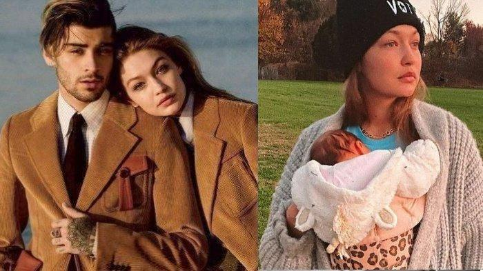 Gigi Hadid Ungkap Nama Putri Zayn Malik Usai 4 Bulan Lahirkan, Punya Arti Raja dan Mirip Sosok Ini
