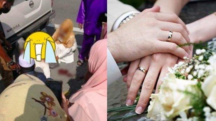Kisah Pilu Pasangan Pengantin Viral, Bercucuran Darah & Tergeletak di Jalan Sebelum Pesta Pernikahan