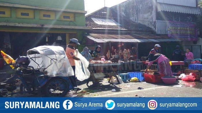 Aturan Pembatasan PSBB Kota Malang Diabaikan, Pemkot Malang Akan Perketat Pengawasan Pasar Kebalen
