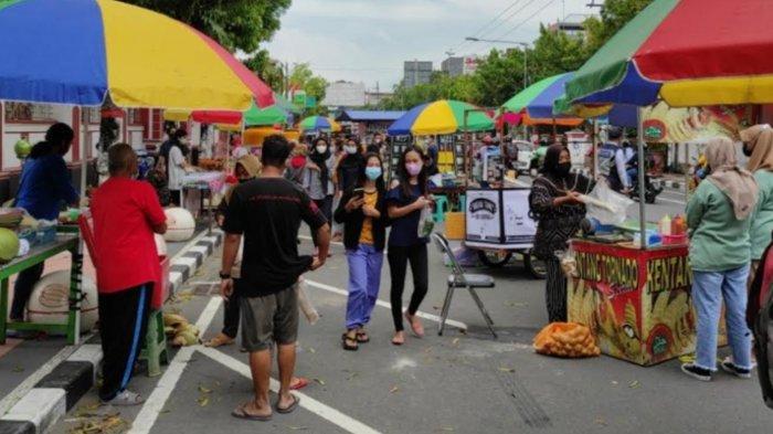 Fokus Operasi Ketupat, Operasional Pasar Takjil Kota Blitar Hanya Sampai 30 April 2021