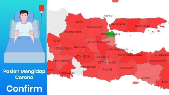 UPDATE Virus Corona di Malang Jatim, Surabaya & Batu 8 April 2020 Total Positif 15, PDP 113, ODP 495