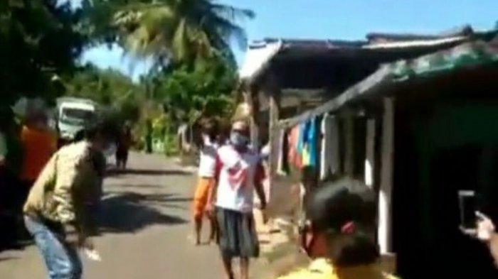 Pasien Sembuh Virus Corona Disambut Antusias Oleh Para Tetangga di Gunungkidul, Videonya Viral