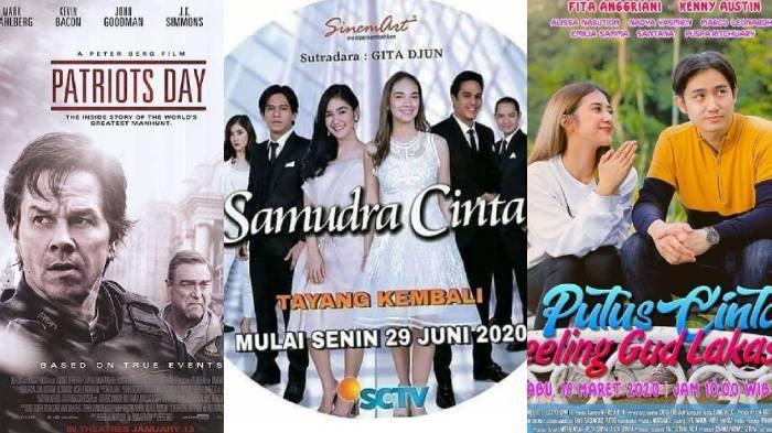 Jadwal Acara TV Hari Ini 27 Juli 2020 Trans TV Trans 7 SCTV: FTV, Film Patriots Day & Samudra Cinta