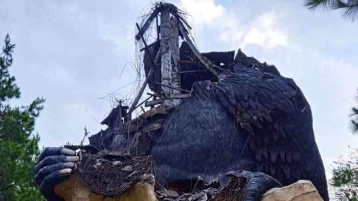 Dampak Gempa di Malang, Patung Gorila yang Rusak di JTP 2 Mulai Direnovasi