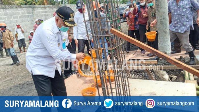 Lakukan Seremoni Pembangunan Hotel Saat Wabah Virus Corona, Bupati Malang : Investasi Tetap Jalan