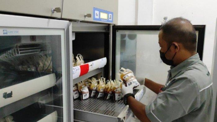 PMI Kota Blitar Gandeng Karang Taruna untuk Jaga Stok Darah saat Pandemi Covid-19