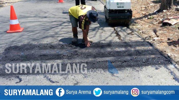 Pengendara Harus Hati-hati Melintas di Jalan Songgoriti-Klemuk, Ada 'Pita' yang Bikin Terkejut