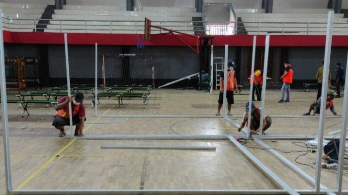 Pengoperasian RS Lapangan Kota Blitar Tunggu Jaminan Stok Oksigen dan Obat-obatan