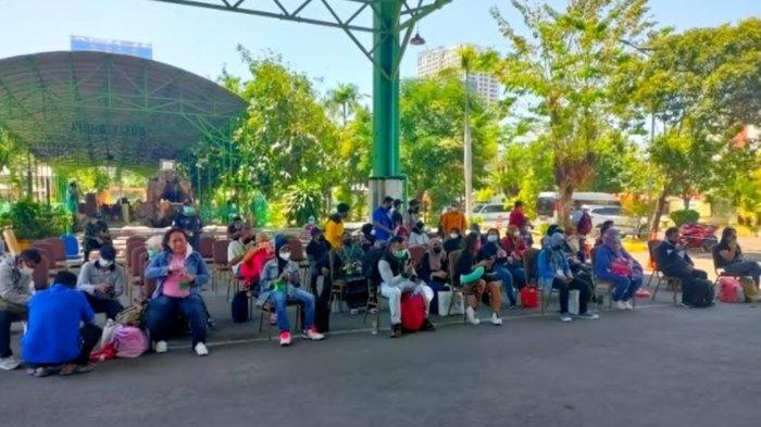 Gelombang Pekerja Migran Indonesia Asal Jawa Timur Terus Berdatangan, Langsung Karantina