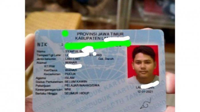 Sosok Syaiful Bahri, Pelajar Asal Lamongan Pemilik Tanda Tangan Simbol Konoha yang Viral