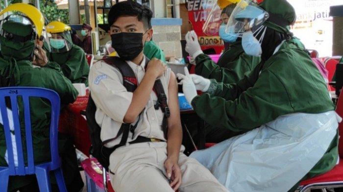 Capaian Vaksinasi Covid-19 Dosis Satu di Kota Blitar Masih Sekitar 58 Persen