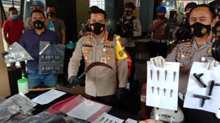 Kronologi Penembakan 2 Pelaku Curanmor yang Sempat Bacok Polisi Pakai Celurit