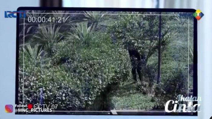 Pelaku teror terekam CCTV adegan sinetron Ikata Cinta Minggu 5 September 2021
