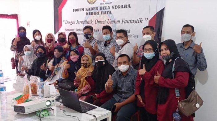 FKBN Kediri Raya Beri Pelatihan Copywriting ke UMKM untuk Pemasaran Produk di Medsos