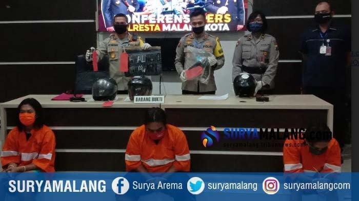 Polresta Malang Kota Tangkap 3 Pelaku Vandalisme, Semua Pelaku Berstatus Mahasiswa