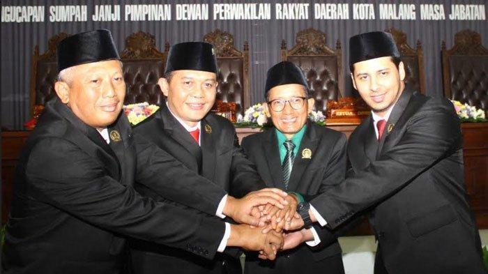 Usai Dilantik, Pimpinan DPRD Kota Malang Langsung Membentuk Alat Kelengkapan Dewan