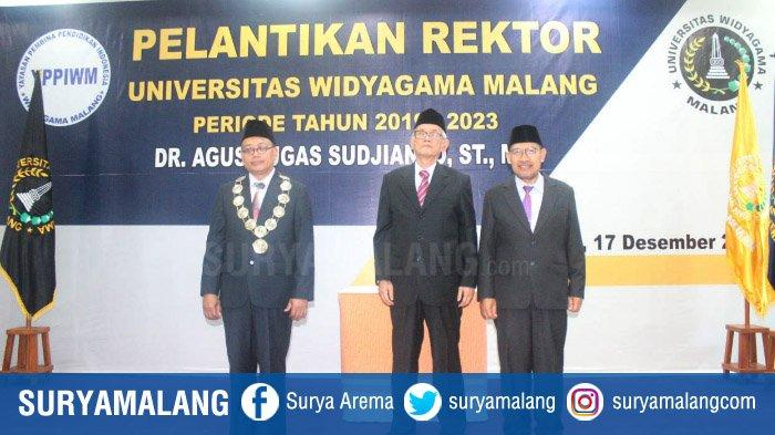 Rektor Baru Universitas Widyagama, Dr Agus Tugas Sudjianto ST MT Berangkat dari Wakil Rektor III