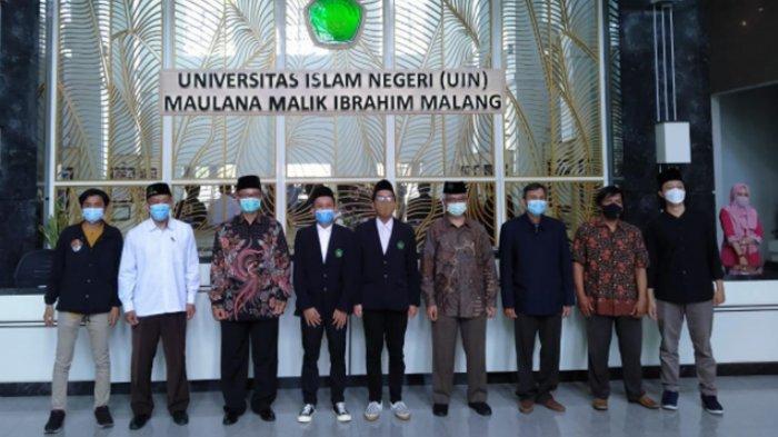 Ketua Sema dan Dema 2021 UIN Maliki Malang Dilantik, Ini Harapan Rektor Prof Dr Abdul Haris