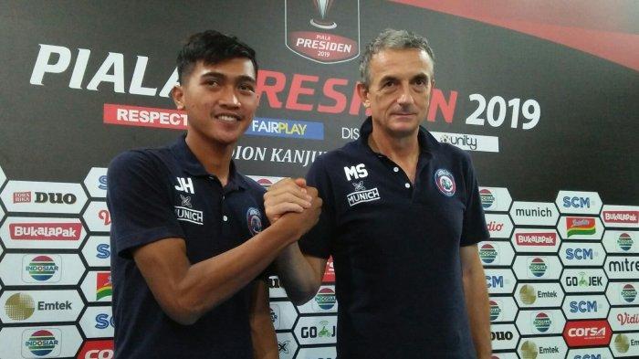 Barito Putera Jadi Ujian Pertama Piala Presiden, Milo: Barito Akan Jadi Masalah Untuk Arema FC