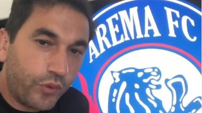 Pelatih Arema FC Eduardo Almeida