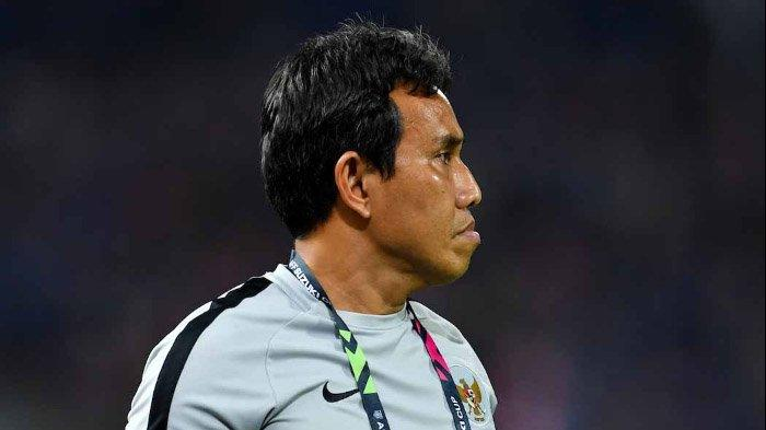 Timnas Indonesia Tersingkir dari Piala AFF 2018, Pelatih Bima Sakti Sampaikan Pesan