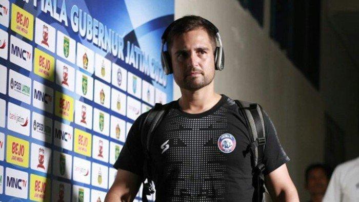 Felipe Americo Rindu Kiper Arema FC dan Suasana Latihan Bareng Tim