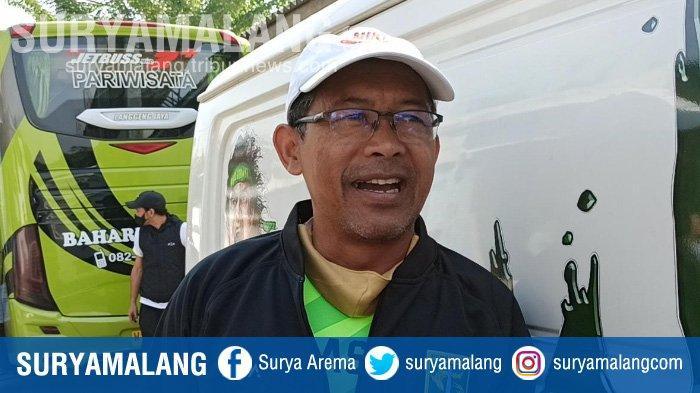 Pelatih Persebaya Surabaya, Aji Santoso, ditemui di Stadion Pusaka, Wiyung, Surabaya, Senin (14/9/2020).