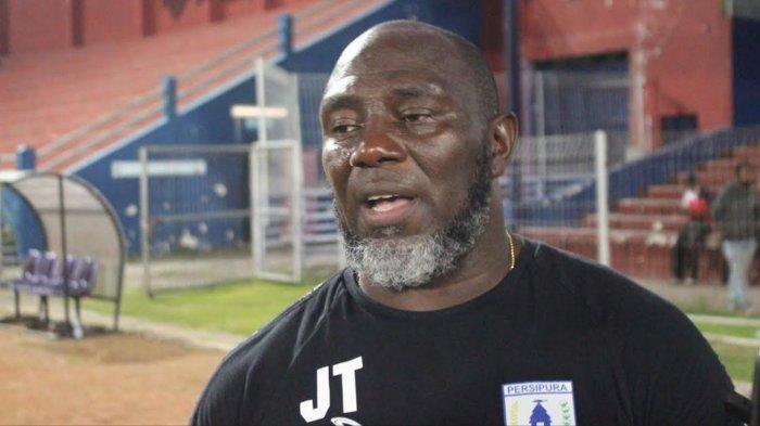 Pelatih Persipura Jayapura Jaksen F Tiago
