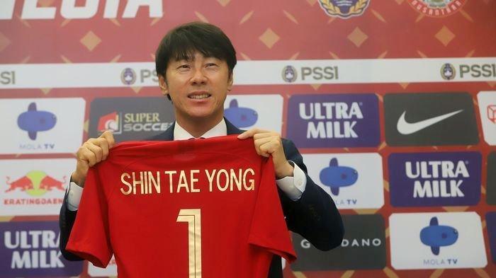 Ini Pesan Penting Pelatih Shin Tae-yong untuk Pemain Timnas Indonesia yang Baru Datang dari Eropa