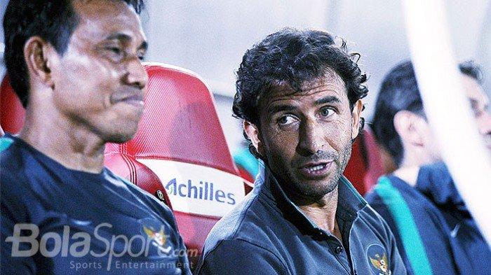 Timnas Indonesia Vs Mauritius, Miris, Tim Garuda Tanpa Didampingi Pelatih Saat Pertandingan