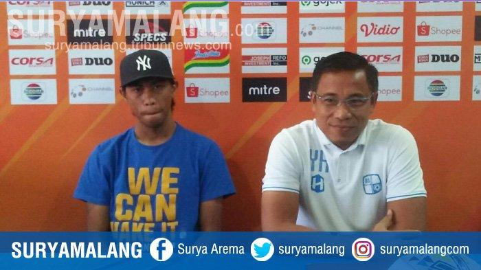 Arema FC Vs Barito Putera, Yunan Helmi : Kami Banyak Pemain Berpengalaman Jadi Tidak Ada Masalah