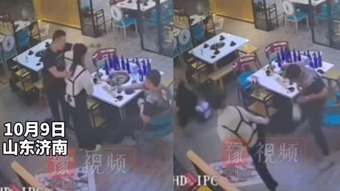 Video CCTV Cewek Pelayan Kafe Hajar 2 Pelanggan Cowok yang Coba Melecehkannya, Jago Taekwondo